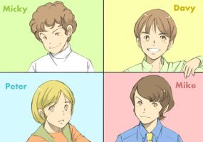 The Monkees by Nyorori