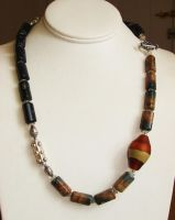 Earthen Necklace . by CrysallisCreations