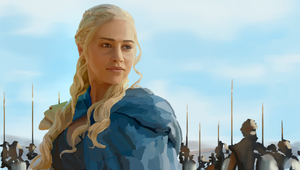 Daenerys Targaryen - Game of Thrones by DeltarScene