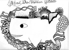 All Hail The America Whale by awesomemcnugget