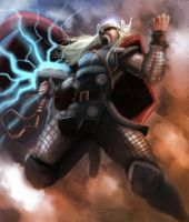 The Mighty Thor by devowankenobi