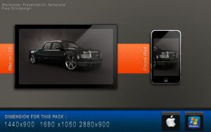 Wallpaper template free by 3DEricDesign