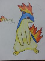 Quilava by PoMlovah611