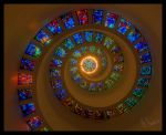 stained glass spiral by MichaelHawkins