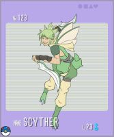 Gijinka Pokemon- Scyther by Song64
