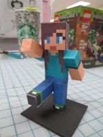 Minecraft Papercraft Girl by Hernandroid