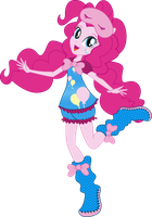 Pinkie Pie Sleepover Vector by icantunloveyou