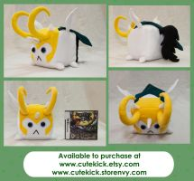 My Little Loki Companion Cube Pony by cutekick