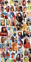 Women Of Marvel by stompboxxx