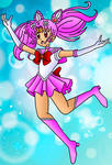 A New Awakening: Sailor Chibi Moon [Color] by PrettySoldierPetite