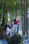 Bravely Default (Forest) by white---butterfly