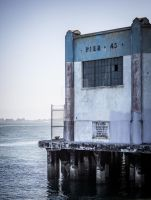 Pier 45 in San Francisco, California by collector007