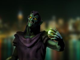 Green Goblin by franeres