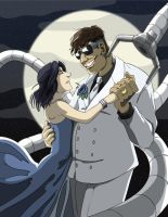 Doc Ock and Mary Commission by neo-dragon