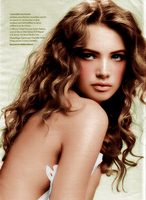 Colorize curly woman 2 by BLAxBLA
