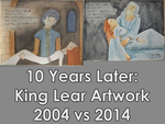 10 Years Later - King Lear Holding Cordelia Redone by junglekatz2002