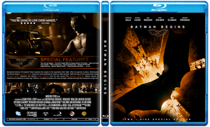 Batman Begins Blu-Ray by Staxit