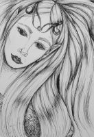 Elven Lady by guen20