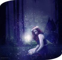Mysterious in the forest. by Eugenienyan