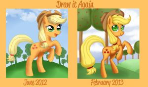 Before and After Meme: AJ by Mel-Rosey