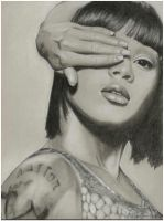 "Lisa Lopes ""Left Eye"" by pErs"