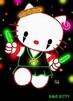 RAVE KITTY by hightower67