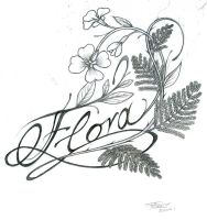name nature tattoo by levin-atanx