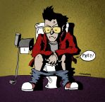 Travis Touchdown by Shiuman