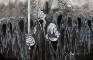 Ringwraiths lotr by ChrisOzFulton