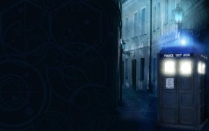 TARDIS Wallpaper by NikitaDarkstar
