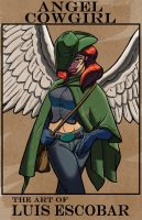 Angel Cowgirl by LuisEscobar
