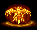 Valkyrie Randgris Pumpking by GRAMOTOONS