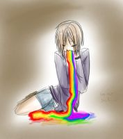 Puke the rainbow by is-teh-lurvz