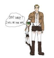 DON'T WORRY,ERWIN ! by Seseyaki