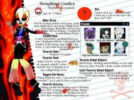 MH OC-Seraphina Conley profile by Bj-Lydia