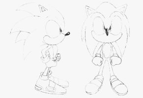 Sonic Sketch by sonictopfan