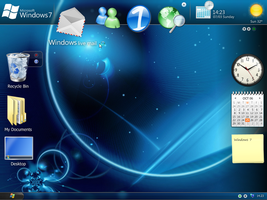 My Windows 7 Concept by deskmundo