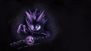 Epidemic Johto Wallpaper- Haunter by BlakkFox