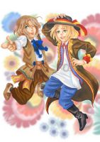 APH: Folklore jumping by momofukuu