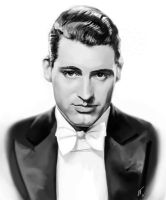 Cary Grant Study by Desolee