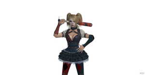 Copy Harley  BAC character render by Hatredboy