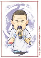 Chester Bennington Toon by Ferlancer