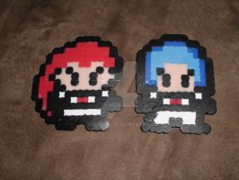 Perler Jessie and James by TMNT1984