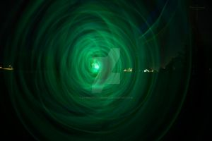 green glow hypno... by KingPinPhotography