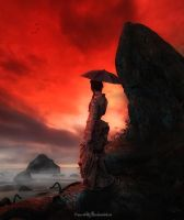 Red Sunset by flina