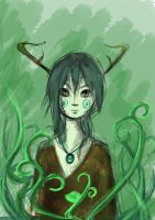 Green king by Ella-kayleigh