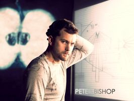 Peter Bishop wallpaper by Fridacoustic