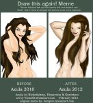 Azula before and after meme by vick330