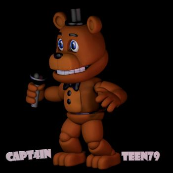 Adventure Freddy (Animated) by Capt4inTeen79