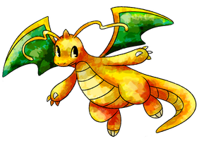 Dragonite by Garkarios